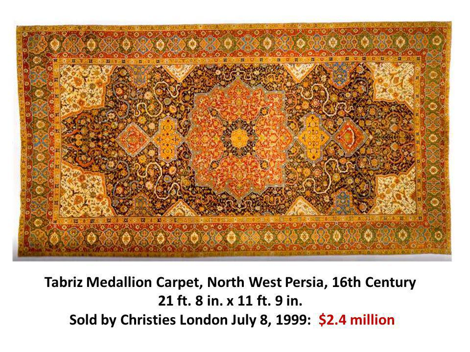 Sold by Christies London July 8, 1999: $2.4 million