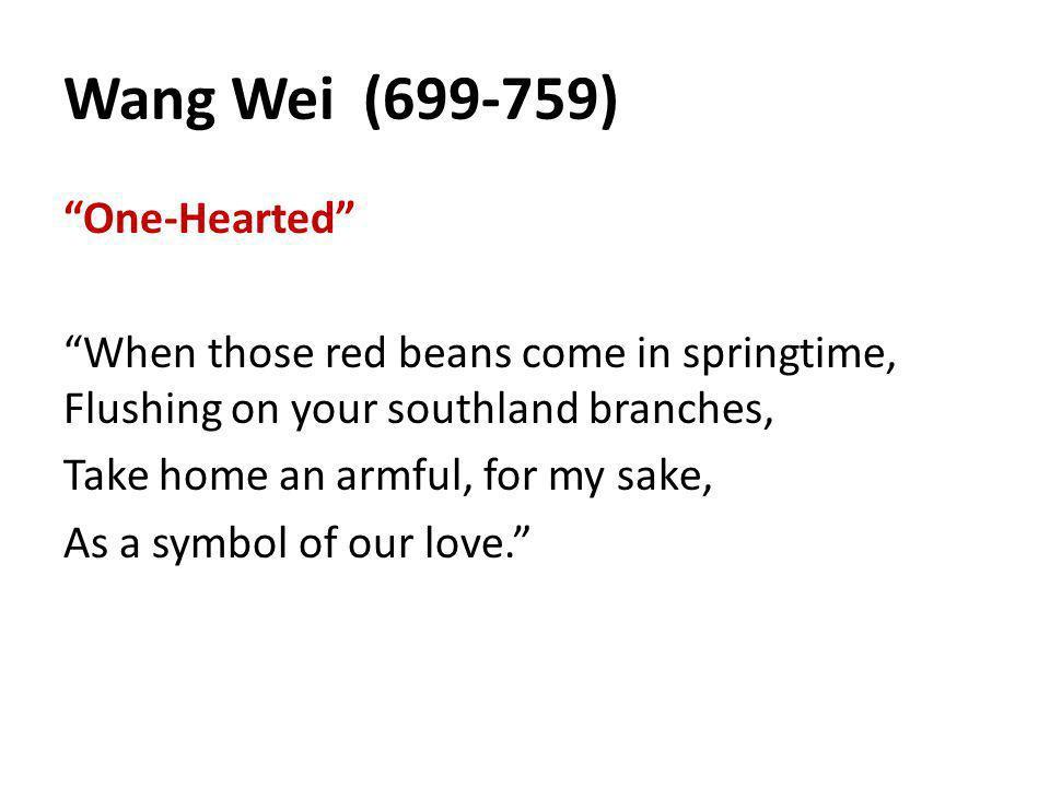 Wang Wei (699-759)