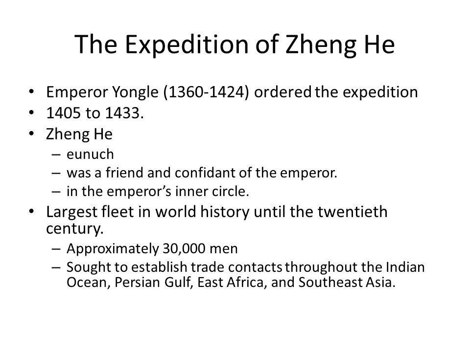The Expedition of Zheng He