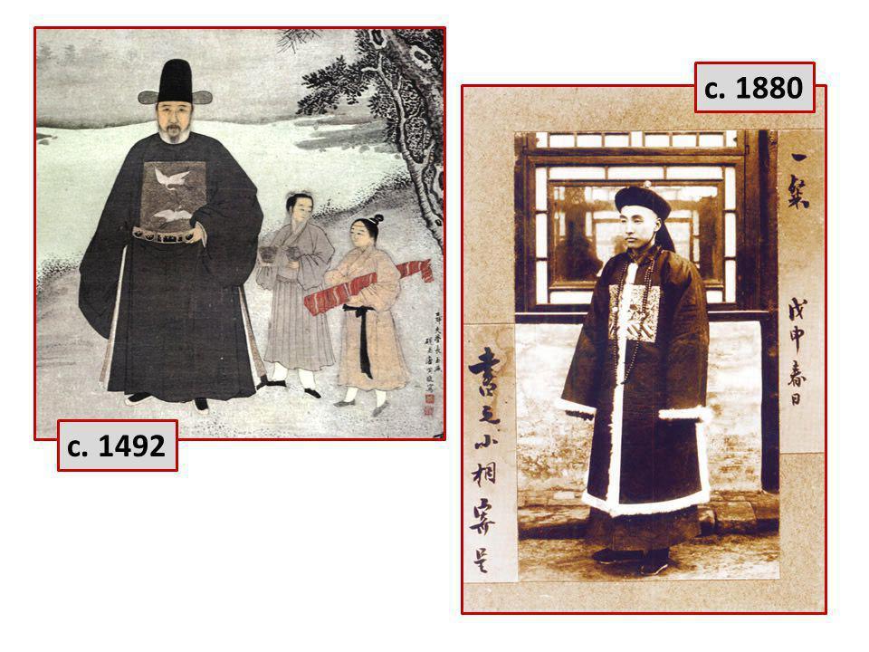 c. 1880 c. 1492