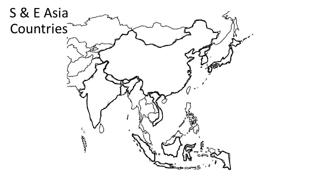 S & E Asia Countries