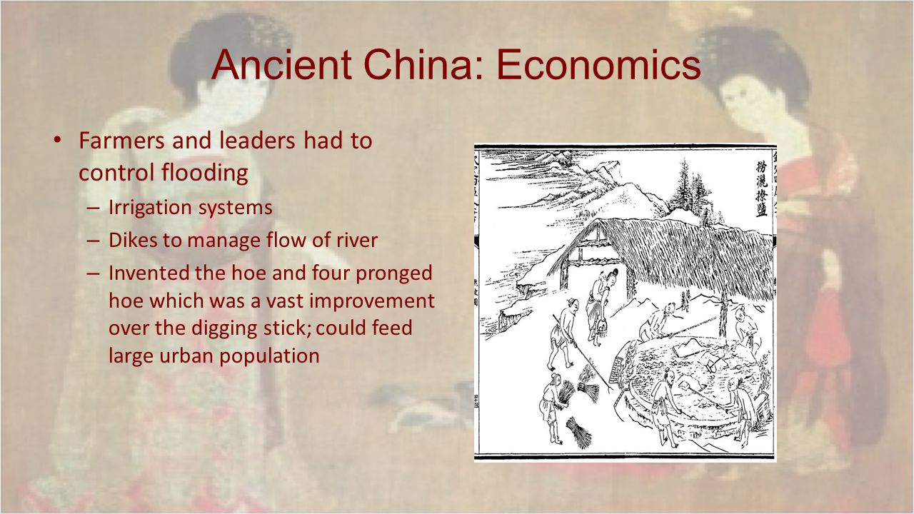 Ancient China: Economics