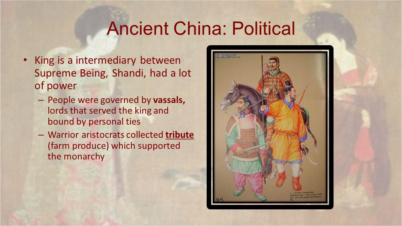 Ancient China: Political