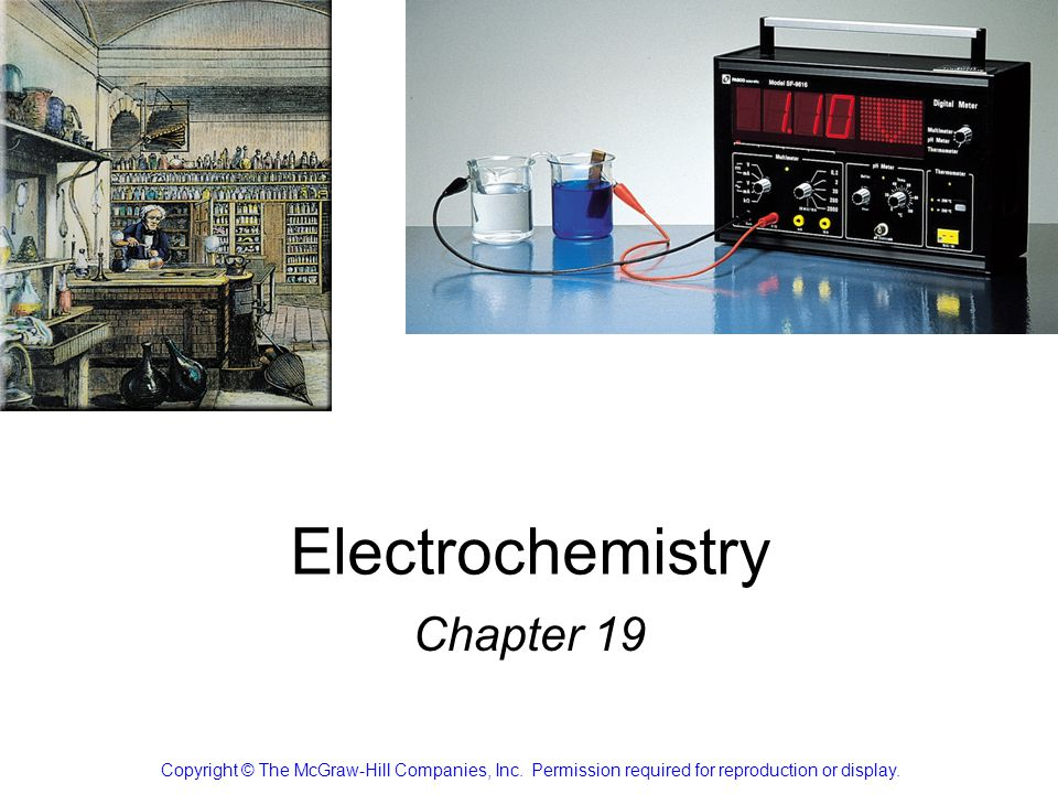 Electrochemistry Chapter 19