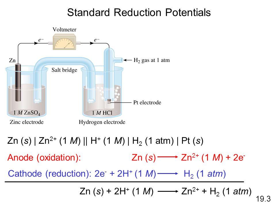 Standard Reduction Potentials