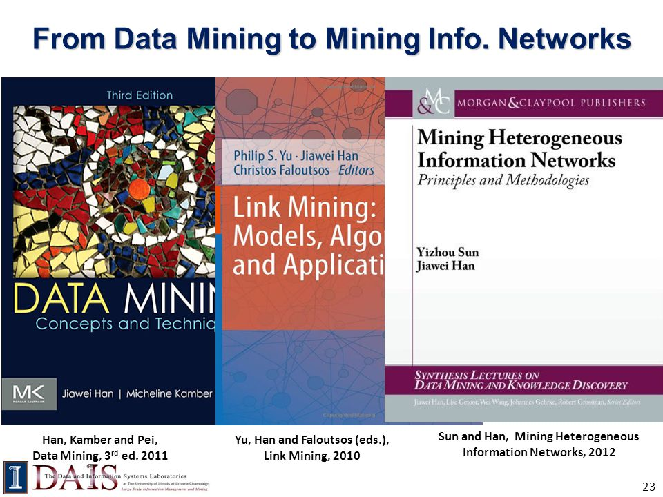 From Data Mining to Mining Info. Networks