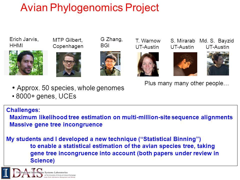 Avian Phylogenomics Project