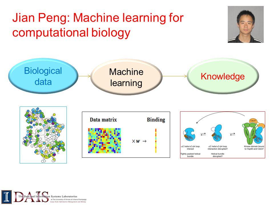 Jian Peng: Machine learning for computational biology