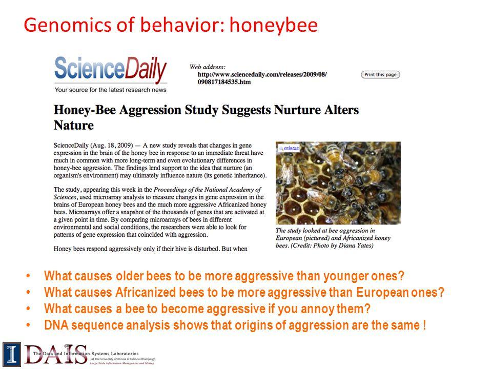 Genomics of behavior: honeybee