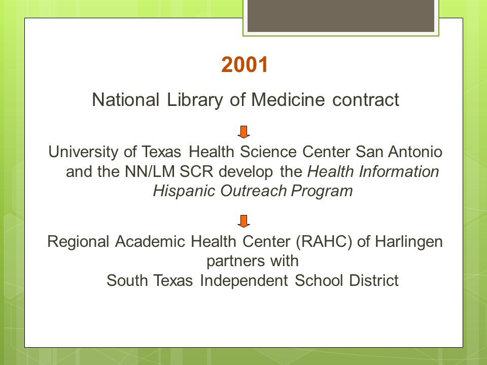 National Library of Medicine contract