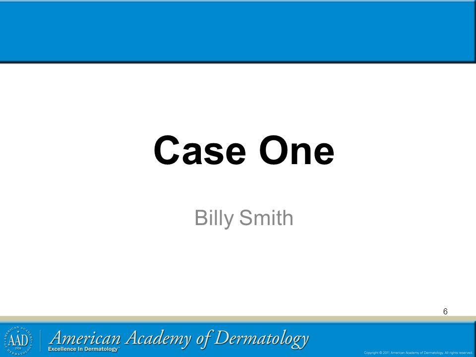 Case One Billy Smith