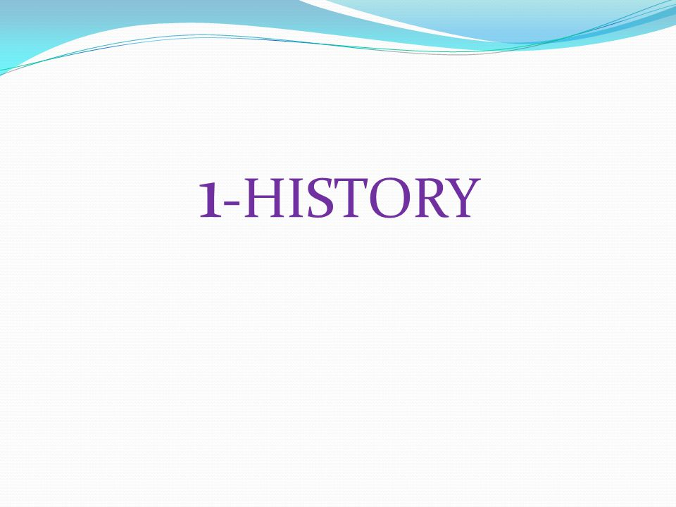 1-HISTORY