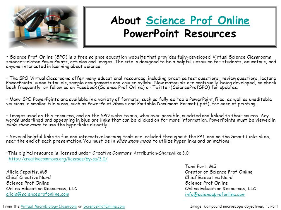About Science Prof Online