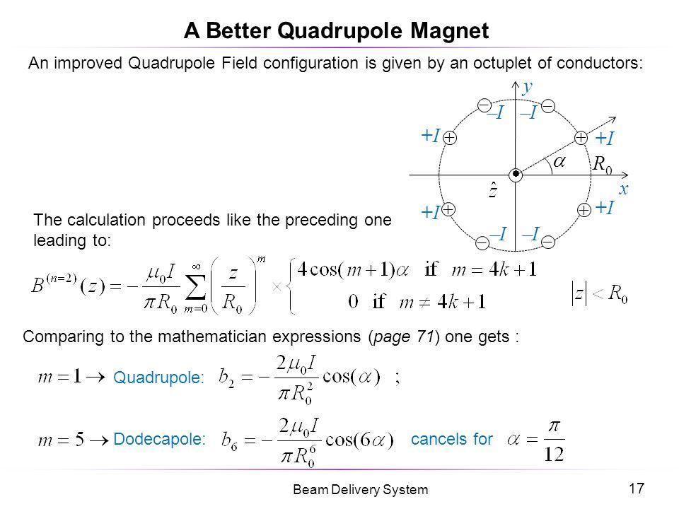 A Better Quadrupole Magnet