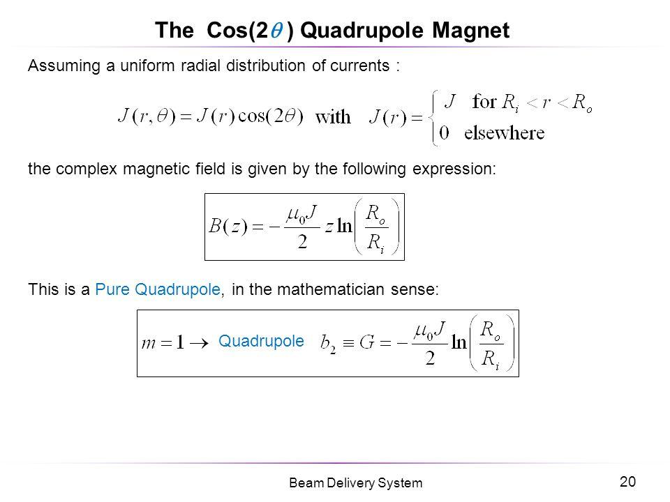 The Cos(2 ) Quadrupole Magnet
