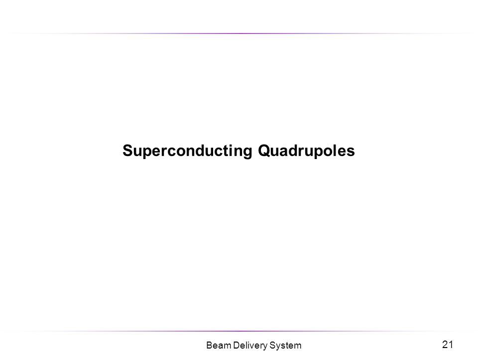 Superconducting Quadrupoles