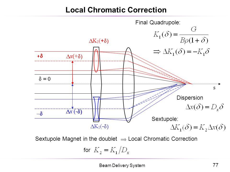 Local Chromatic Correction
