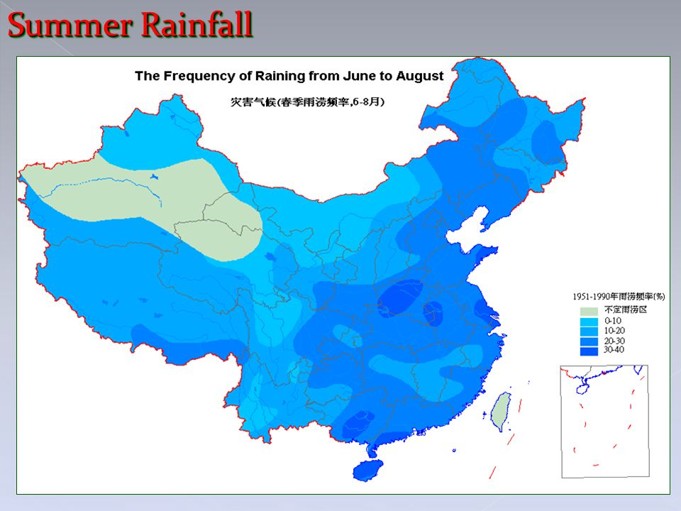 Summer Rainfall