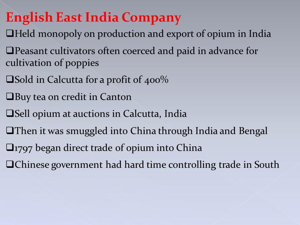 English East India Company
