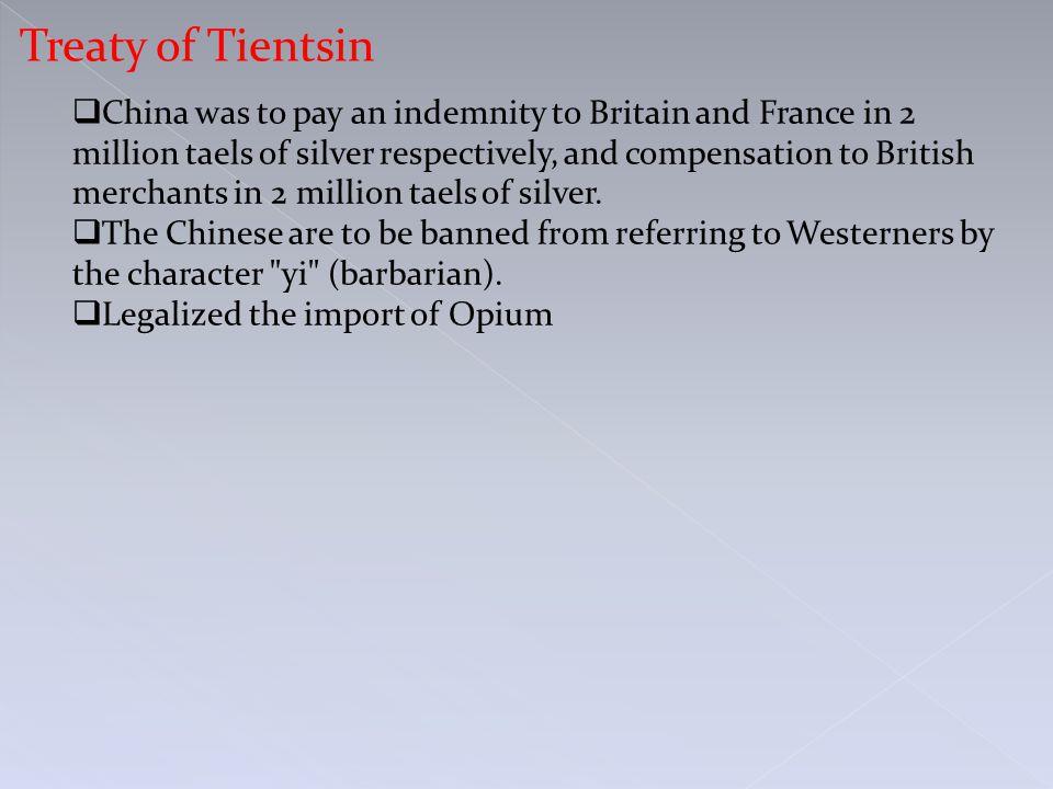 Treaty of Tientsin