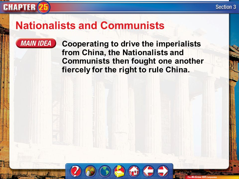 Nationalists and Communists