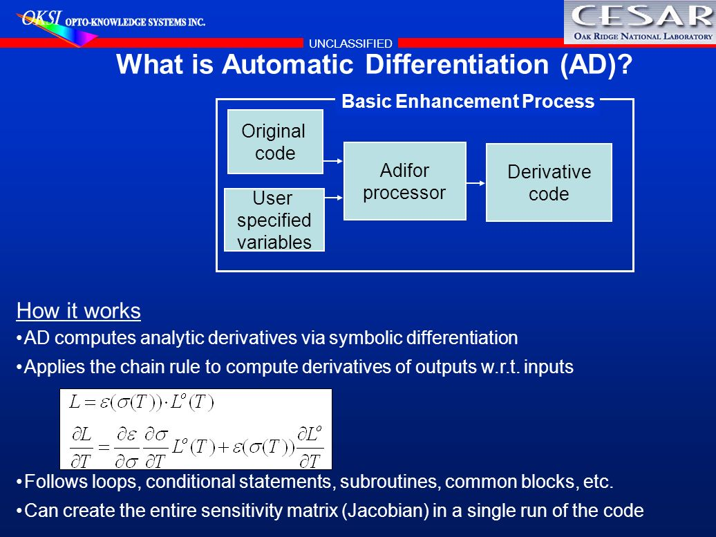 What is Automatic Differentiation (AD)