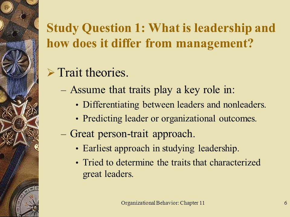 Organizational Behavior: Chapter 11