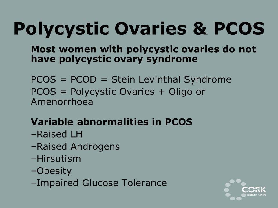 Polycystic Ovaries & PCOS
