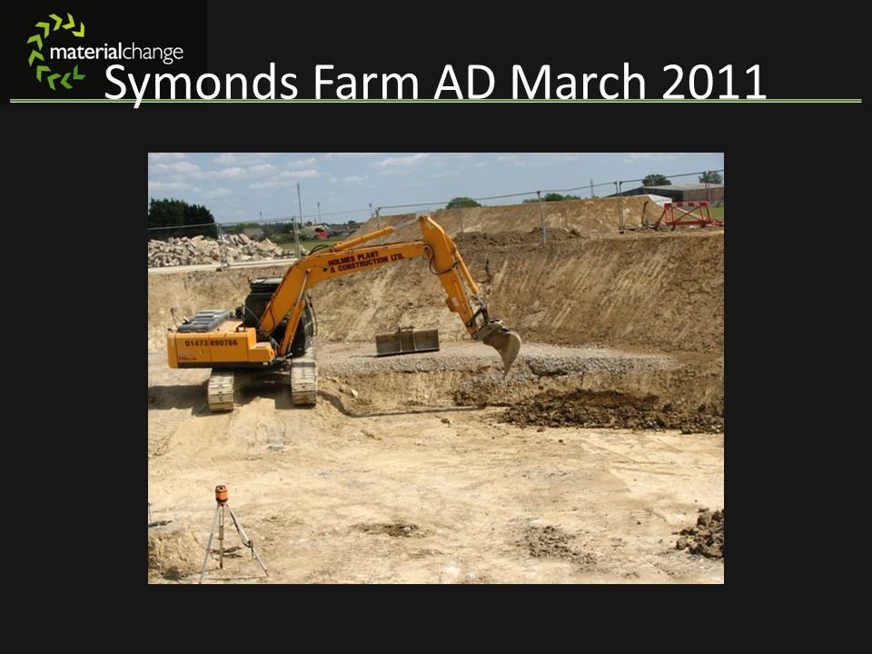 Symonds Farm AD March 2011