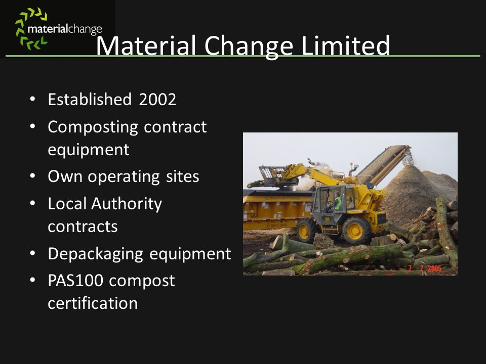 Material Change Limited