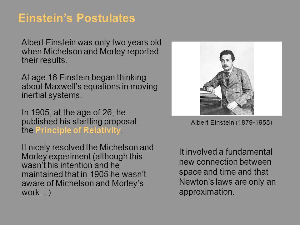 Einstein's Postulates