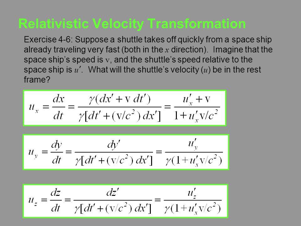 Relativistic Velocity Transformation
