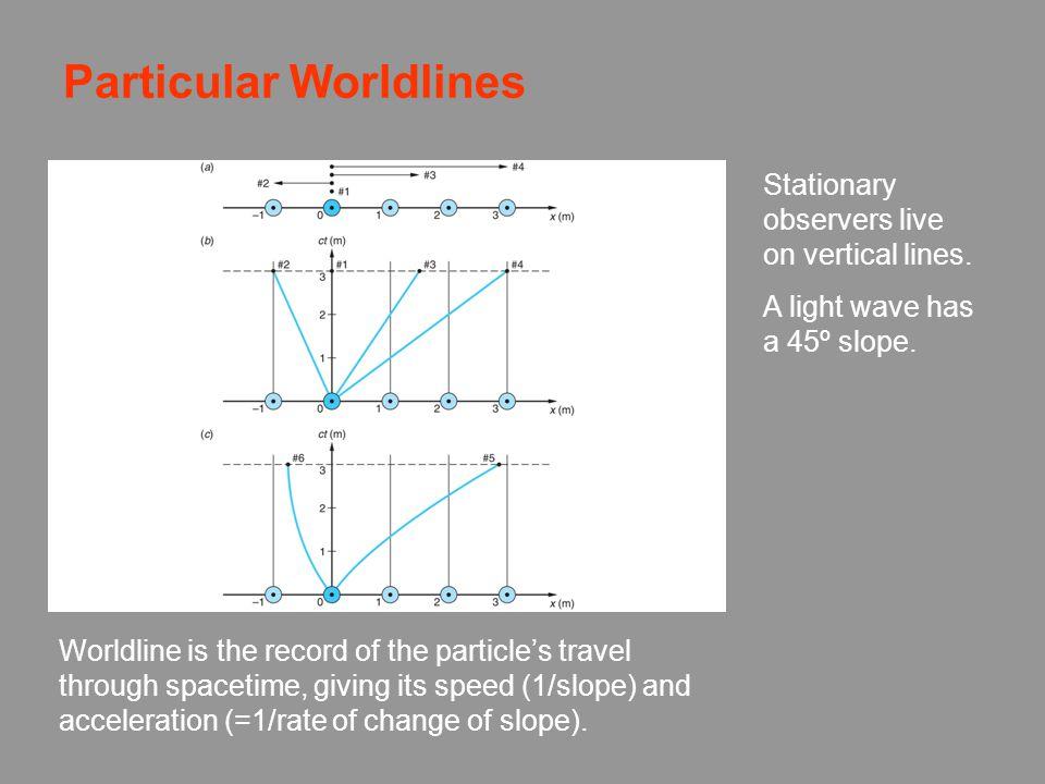 Particular Worldlines