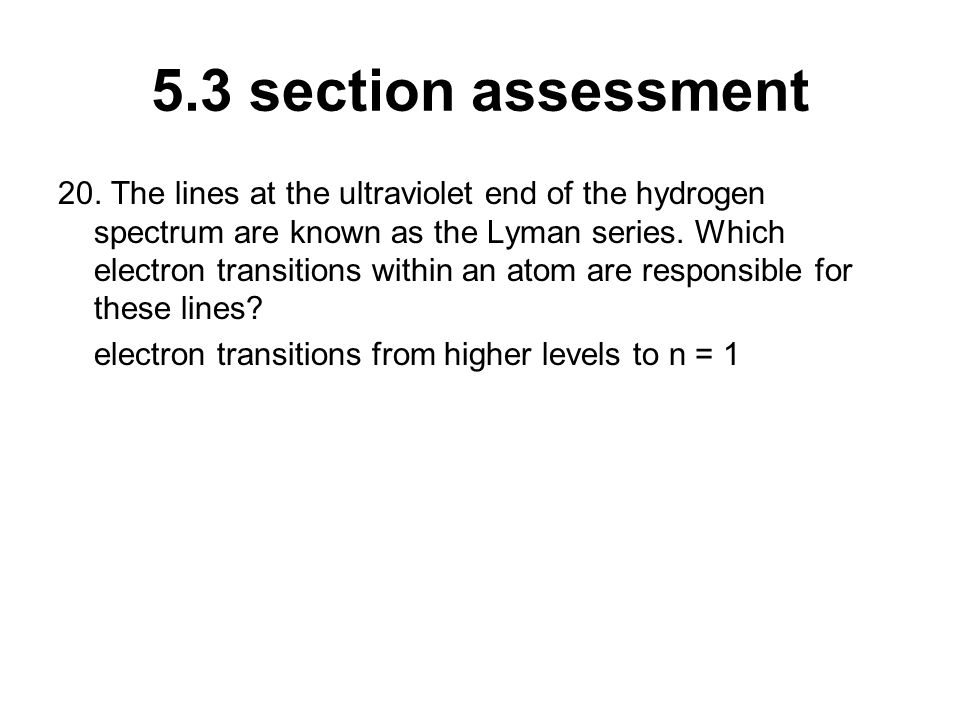 5.3 section assessment