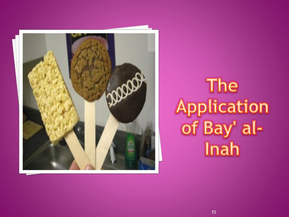 The Application of Bay al-Inah