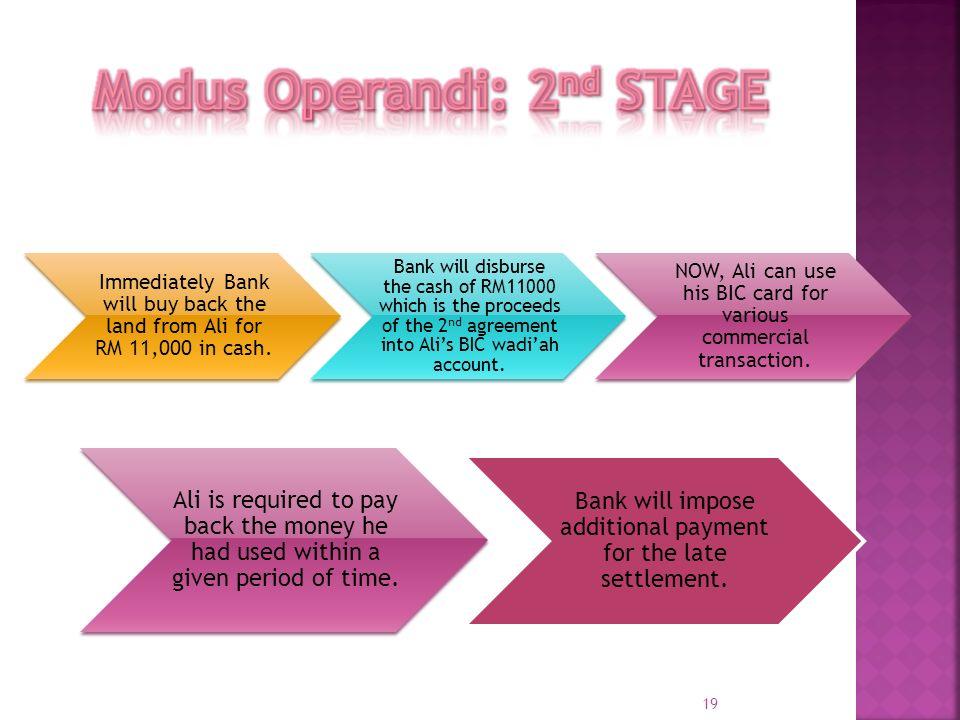 Modus Operandi: 2nd STAGE