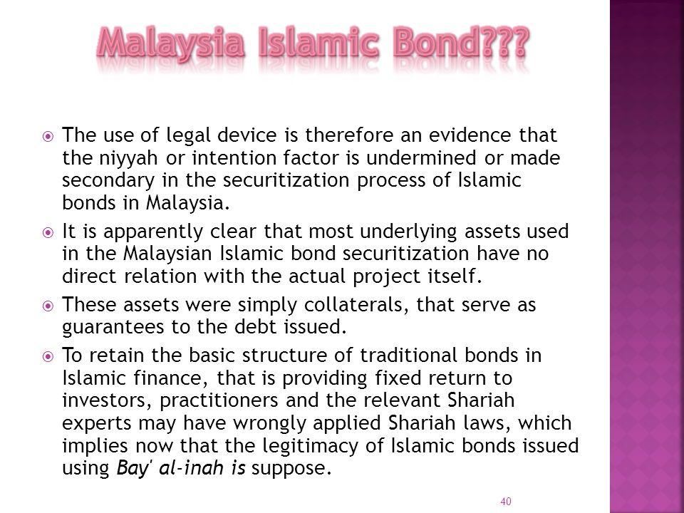 Malaysia Islamic Bond