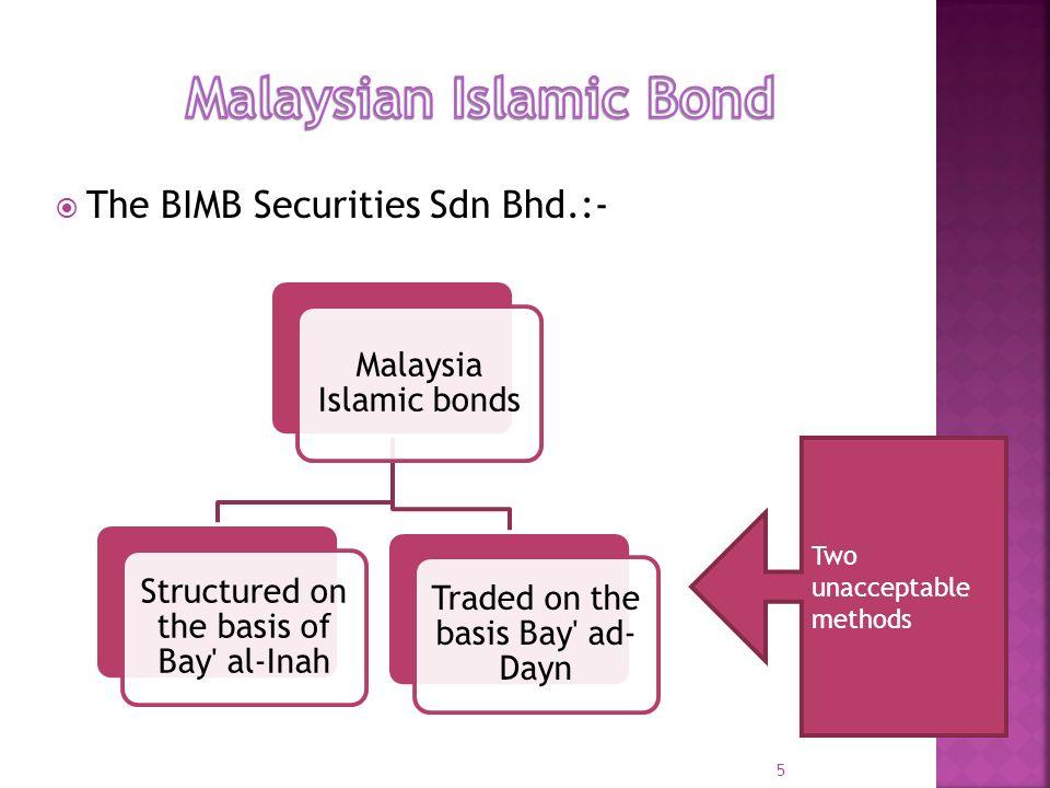 Malaysian Islamic Bond