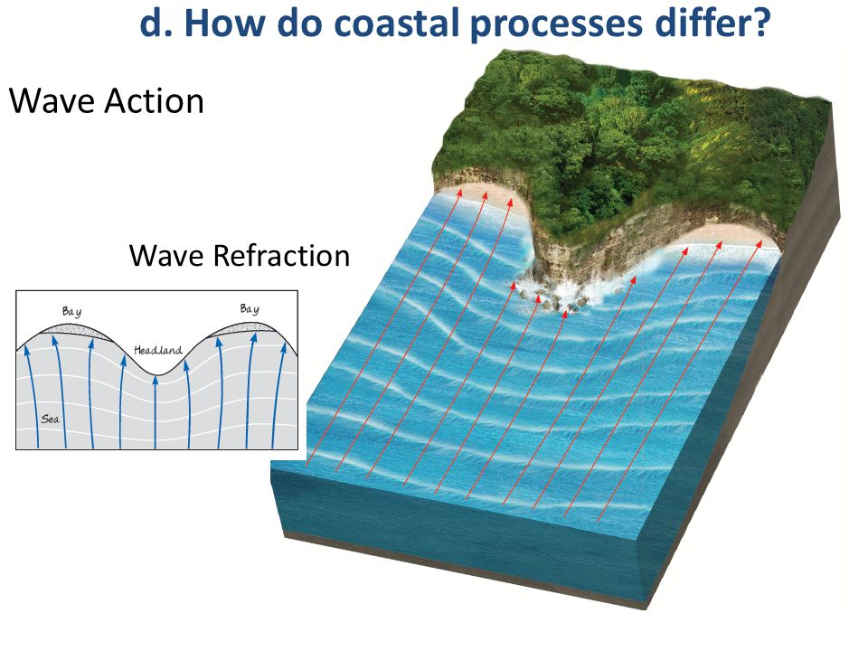 10 why do waves change as they approach shorelines • what happens as waves approach the shore  breaking waves can also refract, change direction and bend as they approach the shore the breaking wave moves up the beach as swash, and.