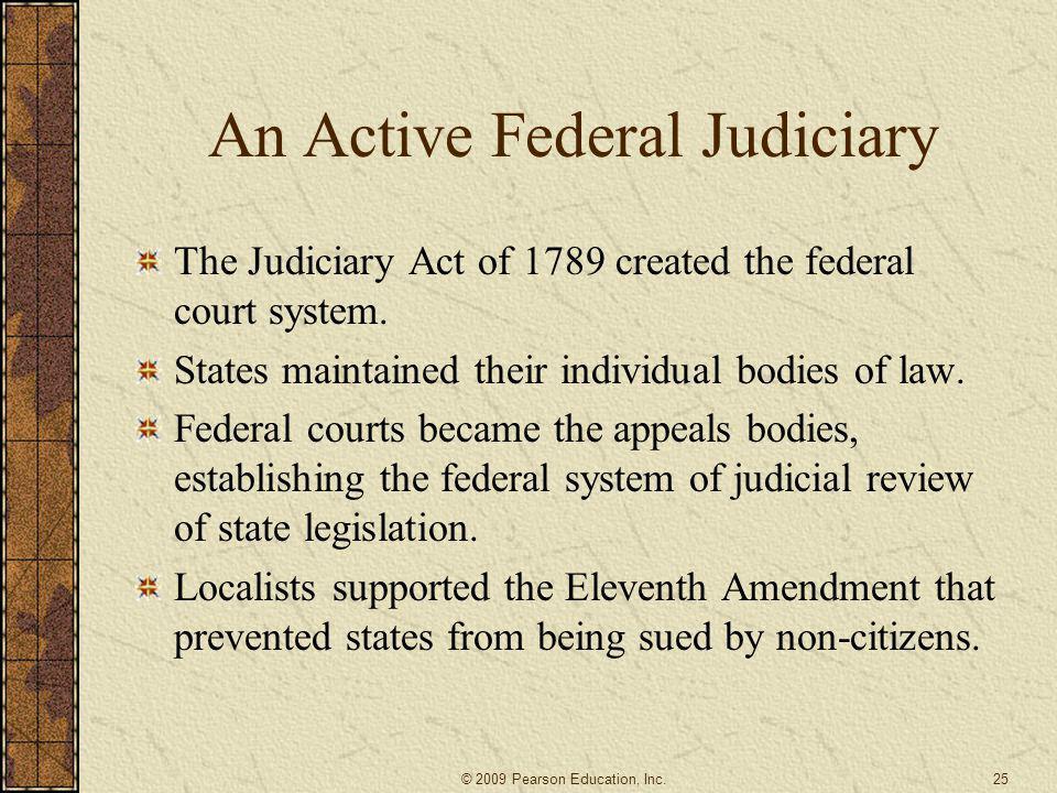 An Active Federal Judiciary