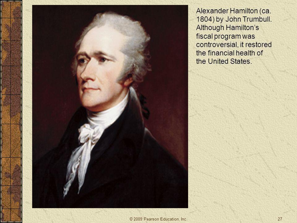 Alexander Hamilton (ca. 1804) by John Trumbull