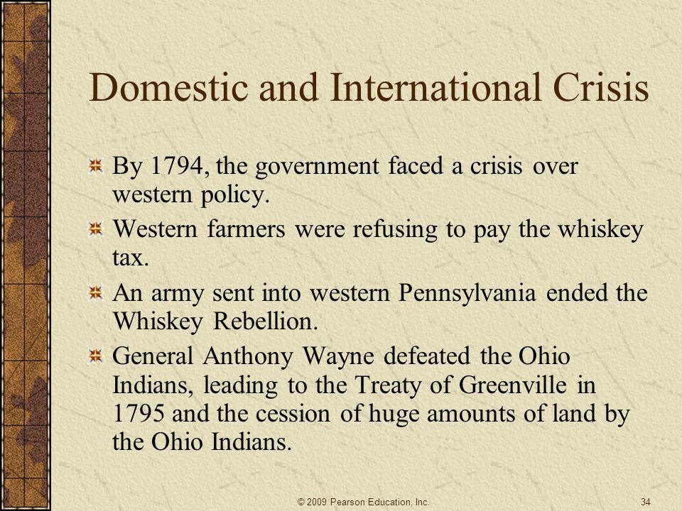 Domestic and International Crisis