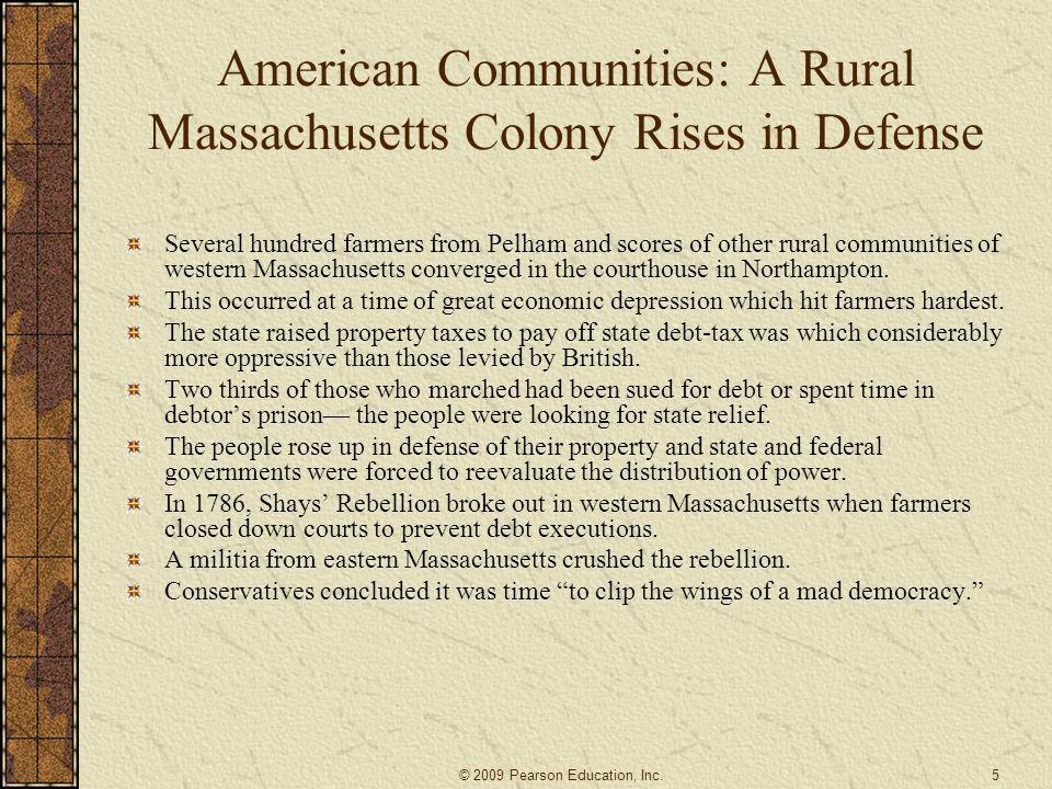 American Communities: A Rural Massachusetts Colony Rises in Defense