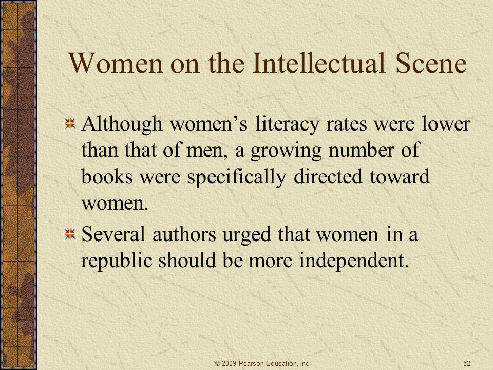 Women on the Intellectual Scene