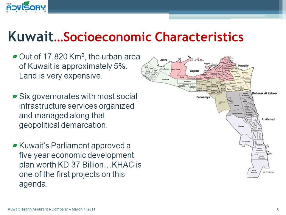 Kuwait…Socioeconomic Characteristics