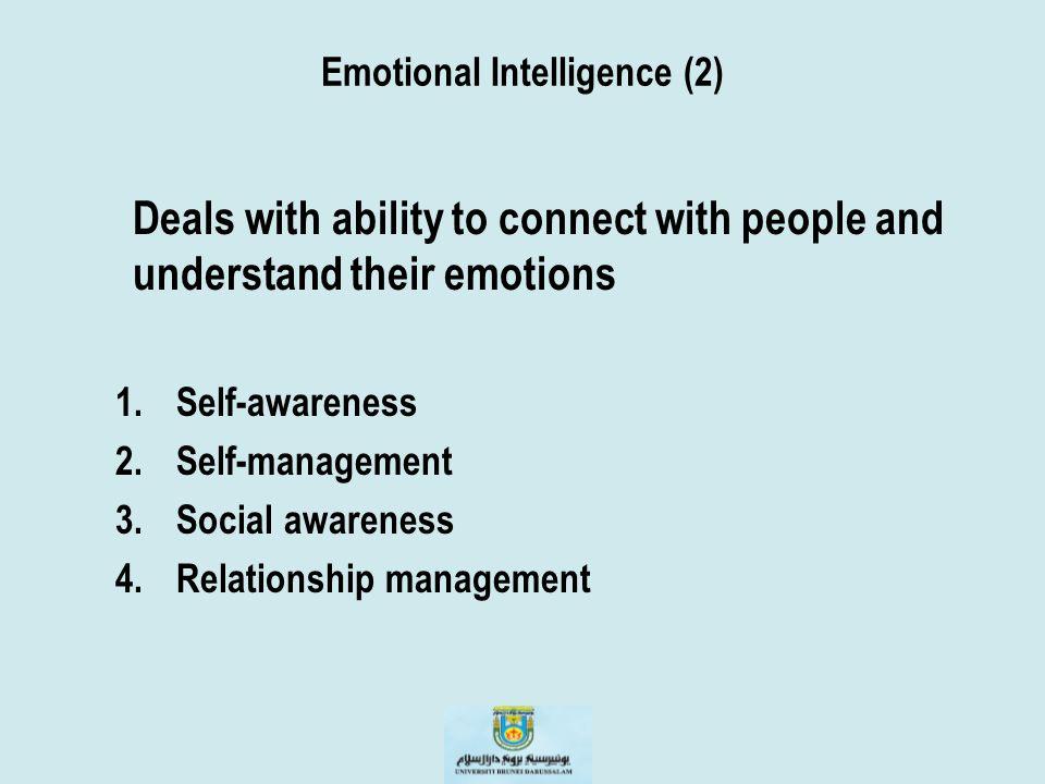 Emotional Intelligence (2)