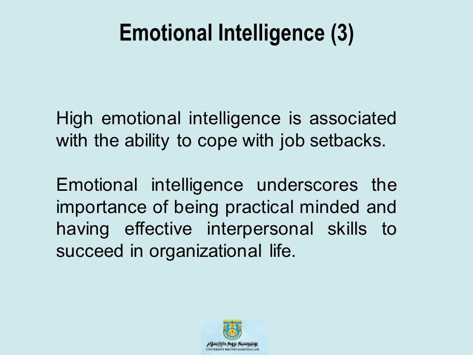 Emotional Intelligence (3)