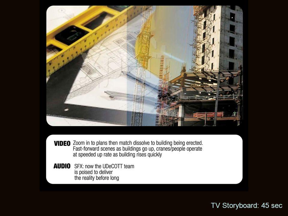 TV Storyboard: 45 sec