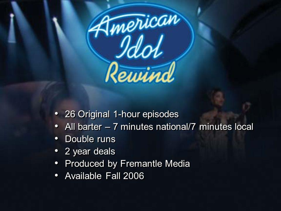 26 Original 1-hour episodes