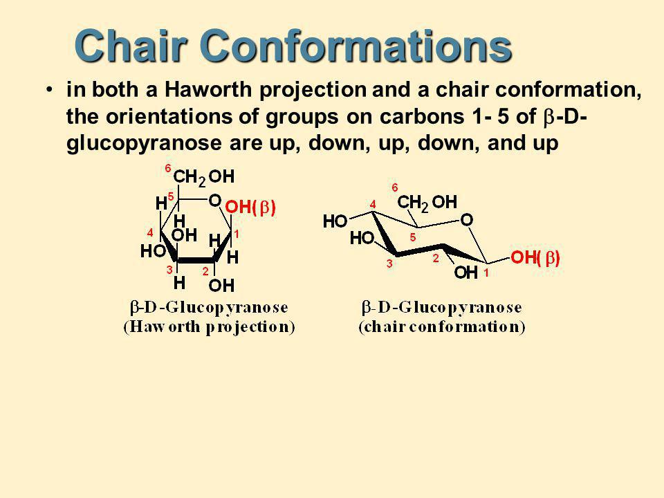 Chair Conformations